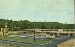 Holiday Inn, U. S. Interstate 20 & U. S. 167 Postcard