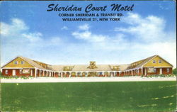 Sheridan Court Motel, Route Junction 324 And 78