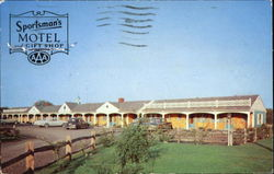 The Sportsman's Motel And Gift Shop Postcard