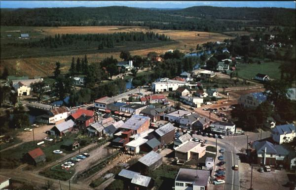 Birds Eye View Minden Canada Ontario