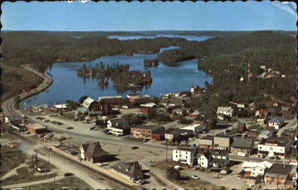 A Panoramic View Of Temagami Canada Ontario