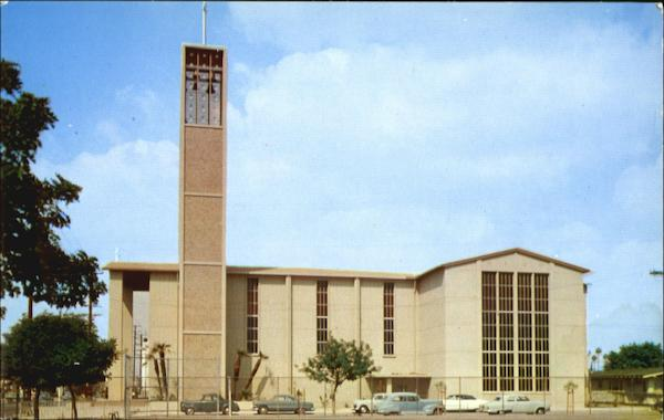 St. Brigid's Church, 53rd St. and Western Ave. Los Angeles California