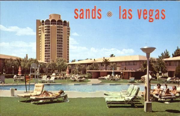 Sands Hotel-Poolside Las Vegas Nevada