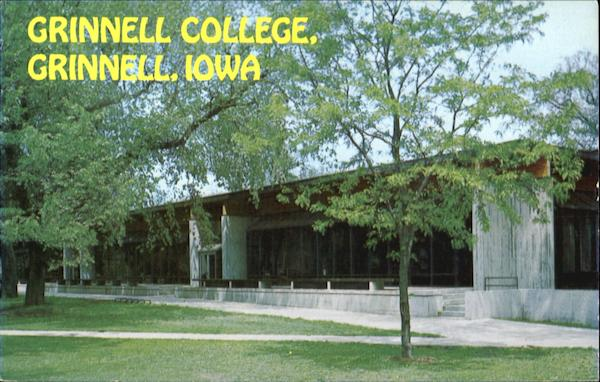 College Forum, Grinnell College Iowa