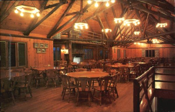 Dining Room Water And Virginia Shaw Lodge Camp T. Frank ...
