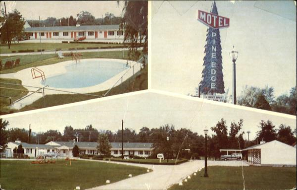 Pine Edge Motel, Highway 6 & 218, West, Caralville Exit 1 - 80 Iowa City