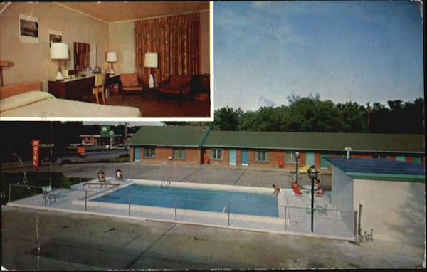College Motel, 1703 W. 6th - P.O. Box 511 Lawrence Kansas