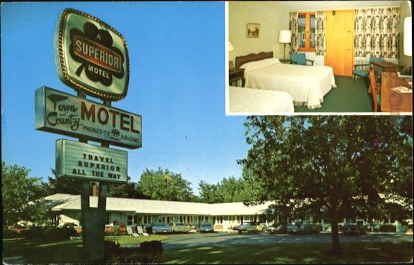 Town & Country Motel, 490 Shelburne St Burlington Vermont