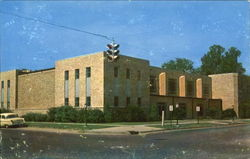First Baptist Church, Sixth and Poplar St Postcard
