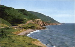Corny Brook On The Cabot Trail Postcard