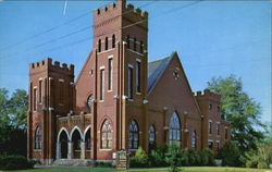 First Methodist Church Postcard