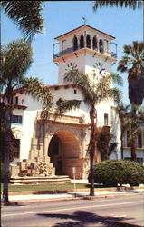 The Tower Santa Barbara County Courthouse