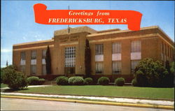Gillespie County Court House Postcard