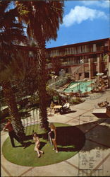 Holiday Lodge San Francisco's Garden Hotel Postcard
