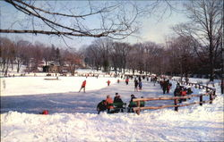 Ice Skating-Downing Park, Downing Park