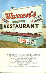 Warren's Family Restaurant, Ocean Highway