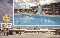 City Center Motel, U. S. Highway 66 West 615 West Hopi Drive Postcard