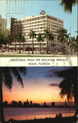 Greetings From The Biscayne Terrace Postcard