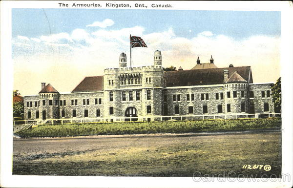 The Armouries Kingston Canada Ontario