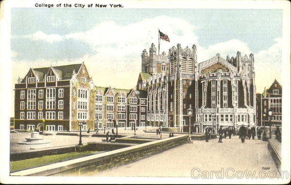 City College, Amsterdam Avenue, West 140th to West 138th Street New York City