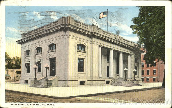 Post Office Fitchburg Massachusetts