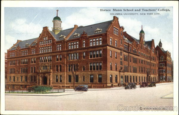 Horace Mann School And Teachers' College, 120th St. to 121st St. New York City