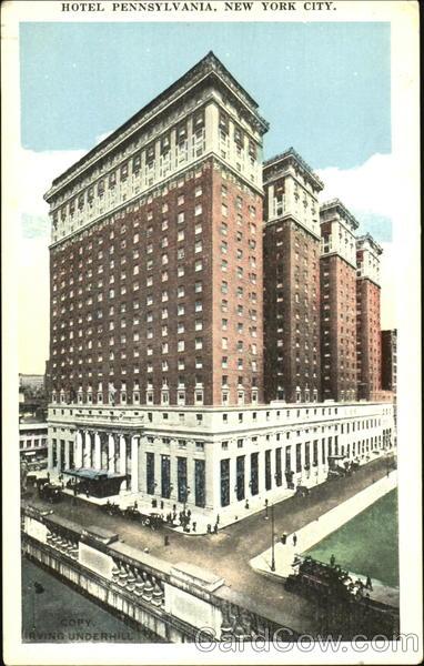 Hotels In New York City >> Hotel Pennsylvania, 33rd Street and 7th Avenue New York City, NY