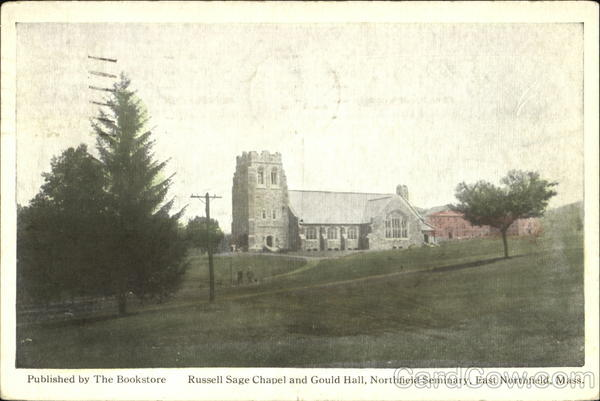 Russell Sage Chapel And Gould Hall, Northfield Seminay East Northfield Massachusetts