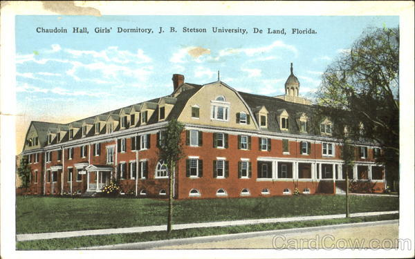 Chaudoin Hall Girl's Dormitory, J. B. Stetson University De Land Florida
