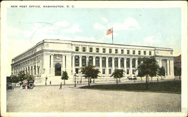 The New Post Office Washington District of Columbia