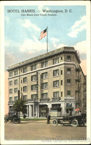 Hotel Harris, One Block from Union Station Washington District of Columbia