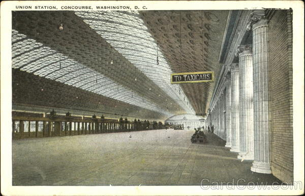 The Passenger Concourse Of The Union Station Washington District of Columbia