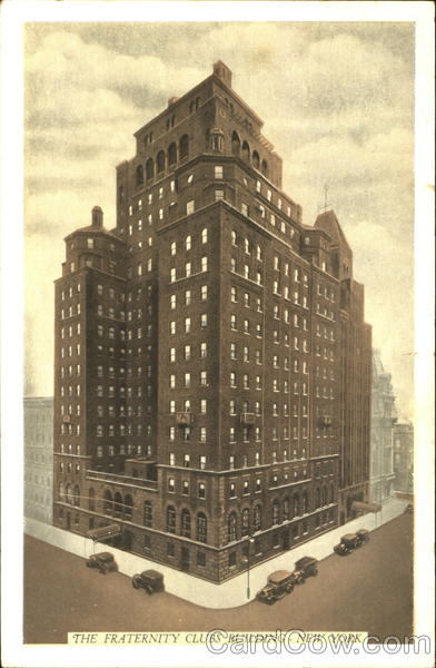 The Fraternity Clubs Building, Madison Avenue at 38th Street New York