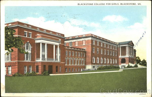 Blackstone College For Girls Virginia