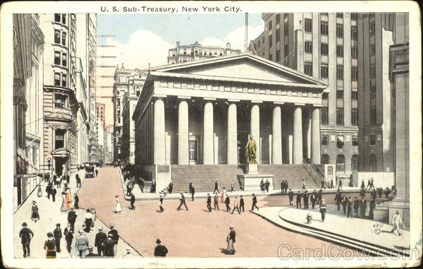 U. S. Sub Treasury New York City