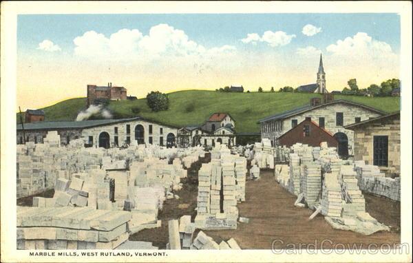 Marble Mills West Rutland Vermont