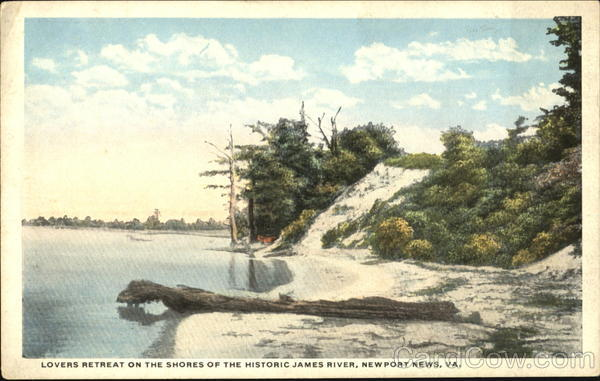 Lovers Retreat On The Shores Of The Historic James River Newport News Virginia