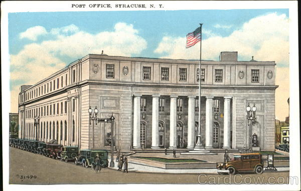 Post Office Syracuse New York