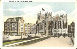 City College, Amsterdam Avenue, West 140th to West 138th Street Postcard