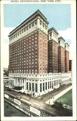 Hotel Pennsylvania, 33rd Street and 7th Avenue Postcard