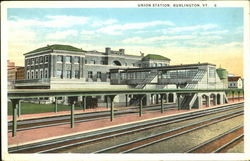 Union Station Postcard