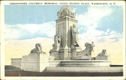 Christopher Columbus Memorial, Union Station Plaza