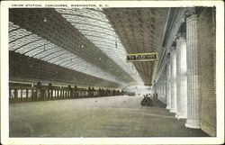 The Passenger Concourse Of The Union Station