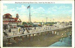 Boardwalk Showing Ocean Ave.