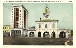 Ye Old Market House And First Citizens' Bank And Trust Co.