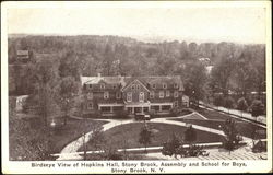 Birdseye View Of Hopkins Hall Stony Brook Assembly And School For Boys
