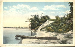 Lovers Retreat On The Shores Of The Historic James River