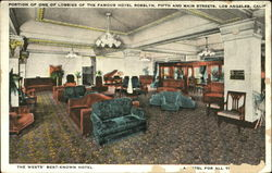 Portion Of One Of Lobbies Of The Famous Hotel Rosslyn, Fifth and Main Streets