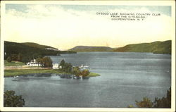 Otsego Lake Showing Country Club, From the O-Te-Sa-Ga