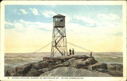 Signal Station, Whiteface Mountain